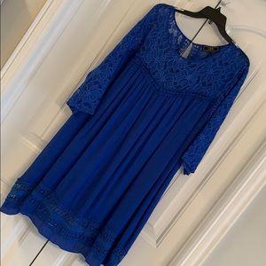 NWT boutique L&B blue dress